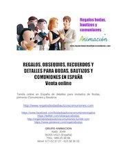 Documento PDF regalosbodasbautizoscomuniones