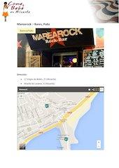 Documento PDF carta marearock comeybebeenalicante