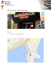 Documento PDF carta sala marearock comeybebeenalicante