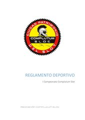 Documento PDF reglamento deportivo