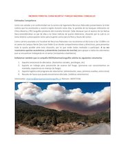 Documento PDF incendio forestal china muerta y parque nacional conguillio