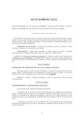 Documento PDF acta n 12 2015 junta de gobierno local ayto zamora 24 03 15 aprobada