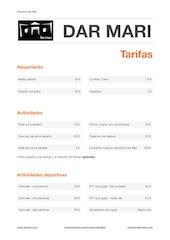 Documento PDF tarifas dar mari 2