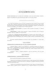 Documento PDF borradro acta n 16 2015 junta gobierno local ayto zamora 21 04 15