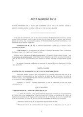 Documento PDF borrador acta 18 2015 junta de gobierno local ayto zamora martes 05 05 15