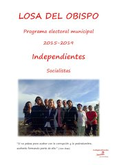 Documento PDF boletin electoral 2015 independiente psoe losa del obispo