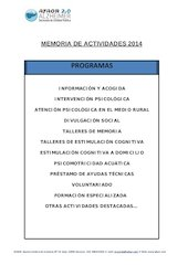 Documento PDF memoria 2014 castellano