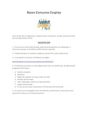 Documento PDF bases concurso cosplay final