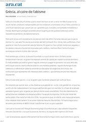 Documento PDF grecia al caire de l abisme paul krugman