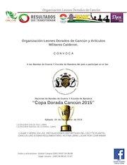 Documento PDF nacional bandas de guerra y escolta de bandera iii copa dorada cancun 2015
