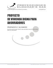 Documento PDF proyecto de vivienda digna