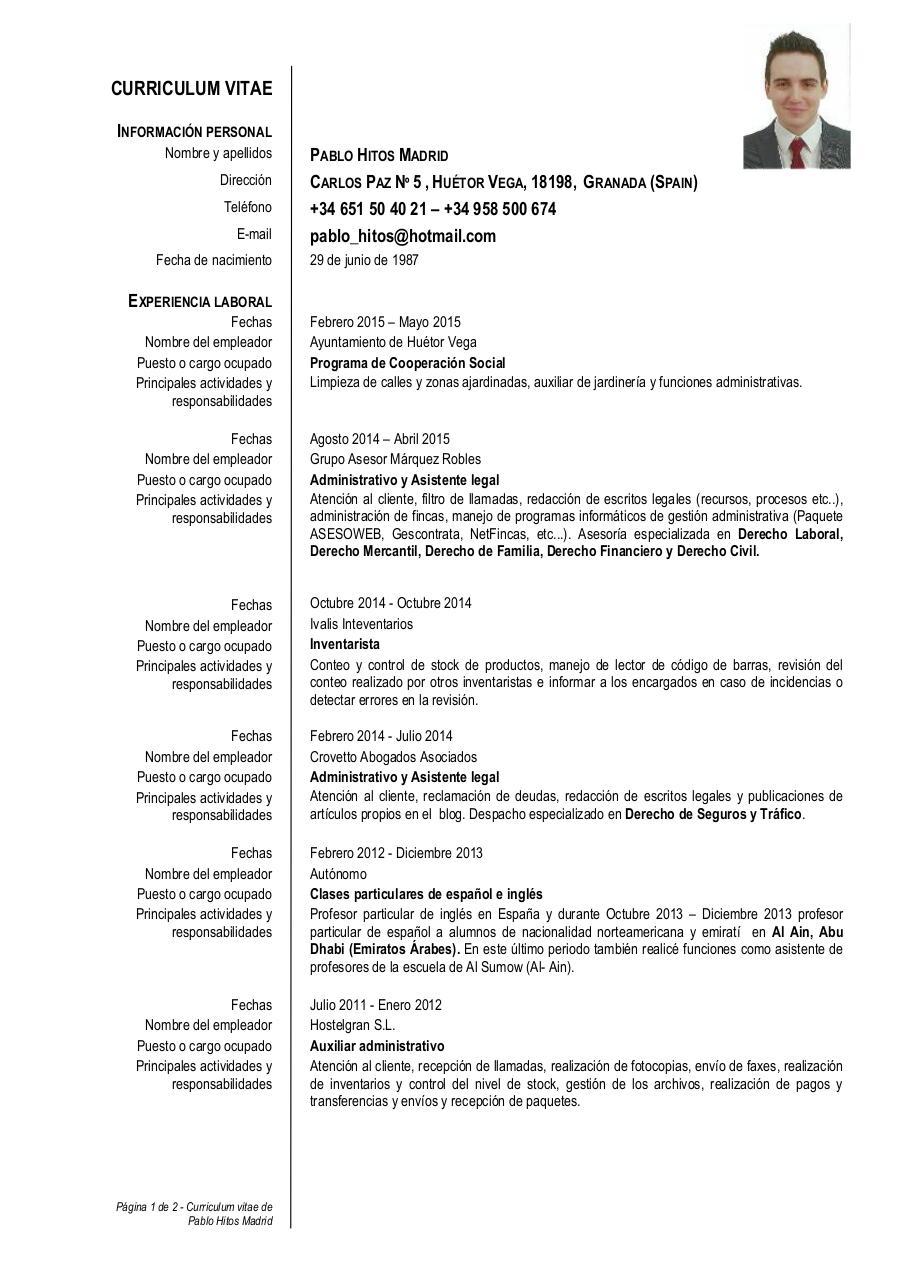 Vista previa de documento Hitos Madrid Pablo CV.pdf - Página 1/2