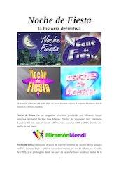 Documento PDF noche de fiesta la historia definitiva del programa actualizado septiembre 2015