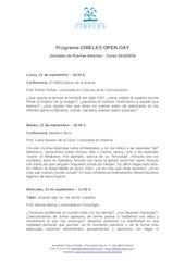 Documento PDF programa jornadas de puertas abiertas 2
