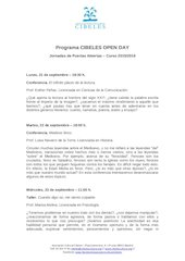 Documento PDF programa jornadas de puertas abiertas