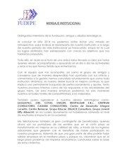 Documento PDF mensaje del presidente