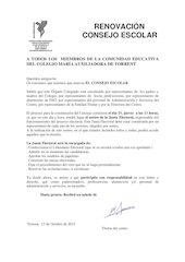 Documento PDF anuncio del sorteo para la junta electoral