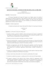 Documento PDF estatutos consejo municipal de la mujer ayto zamora
