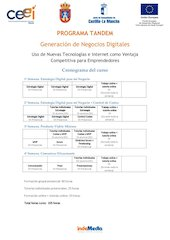 Documento PDF cronograma cursogeneraci nnegociosdigitales laroda v2