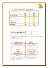 Documento PDF tarifas 2015 albergue serranilla