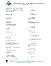 Documento PDF guia de estudio secundaria 2016 temario