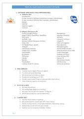 Documento PDF indice del taller sobre aplicaciones y software