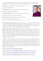 Documento PDF ingles legal y de negocios