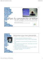 Documento PDF pon tu proyecto a volar i jornada