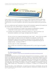 Documento PDF apunte n 3 comunicaci n institucional por victoria martin