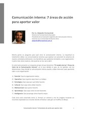 Documento PDF apunte n 7 comunicaci n interna 7 reas de acci n alejandro formanchuk