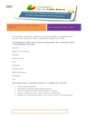 Documento PDF apunte n 8 informe diagn stico institucional de comunicaci n institucional y comunitaria 2016
