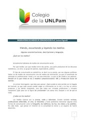 Documento PDF material de apoyo observatorio de medios de comunicacion unlpam 2014 pdf 1 3