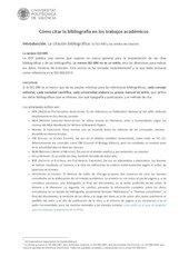 Documento PDF c mo citar trabajos academicos
