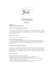 Documento PDF estatutosgastronomiajaen