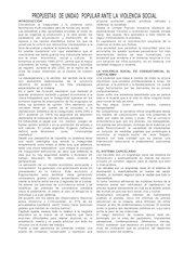 Documento PDF propuestas de unidad popular ante la violencia social
