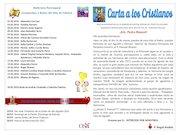Documento PDF 15 carta a los cristianos marzo 2016