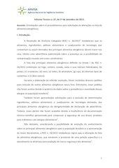 Documento PDF informe tecnico 67 de 1 de setembro de 2015