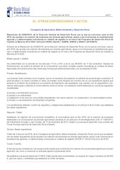 Documento PDF convocatoria