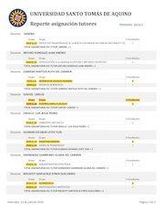 Documento PDF reporte asignacion tutores