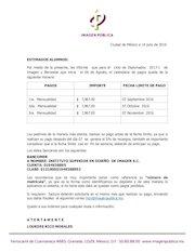 Documento PDF carta cibi diplomados ciclo 2017 1 pagos