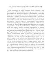 Documento PDF fetranzoategui sala constitucional suspende el art culo 406 de la lottt