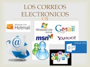 Documento PDF los correos electronicos