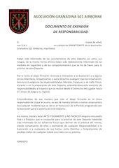 Documento PDF exenci n responsabilidad y normativa seguridad asociaci n u a r