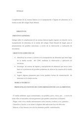 Documento PDF cumplimiento de las normas b sicas en la manipulaci n e higiene de alimentos en la tienda escolar del colegio paula montal