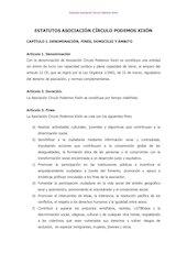 Documento PDF estatutos de la asociaci n c rculo podemos