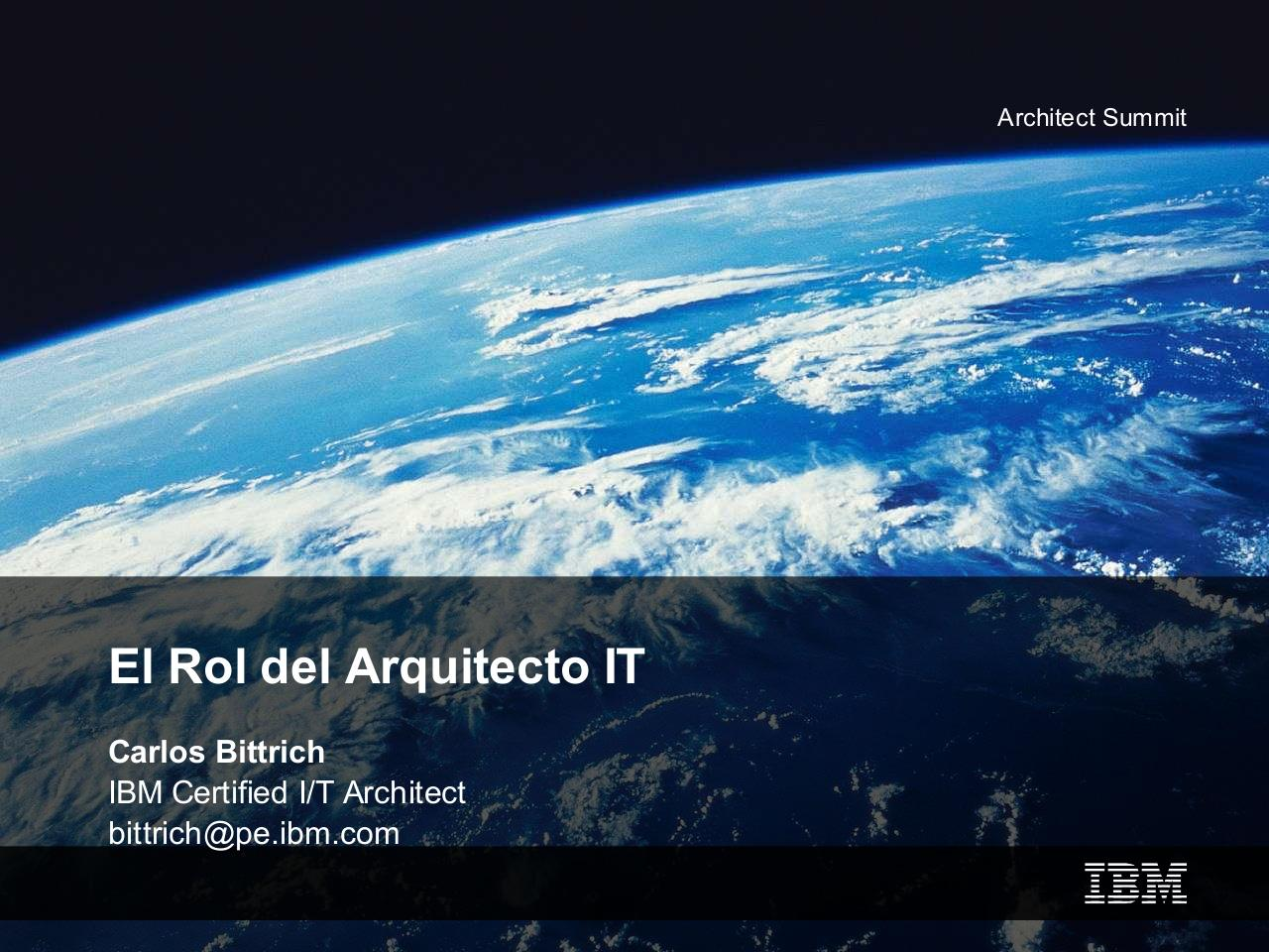 01 Arch Summit Architect role.pdf - página 1/18