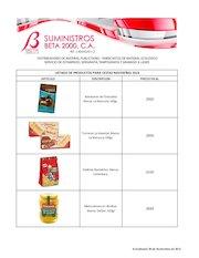 Documento PDF lista precios cestas 2016