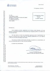 Documento PDF defensor del pueblo estima queja