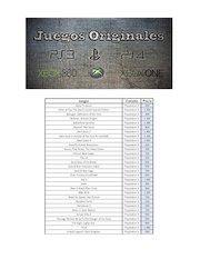 Documento PDF precios de locos