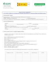 Documento PDF solicitud